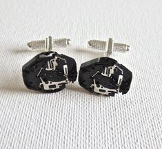 It's a very elegant classy gift for any occasion. They are x Comes with a free gift box! Groom And Groomsmen, Watch Cufflinks, Steampunk Wedding, Wedding Groom, Groomsman Gifts, Vintage Watches, Beautiful Hands, Free Gifts, Accessories