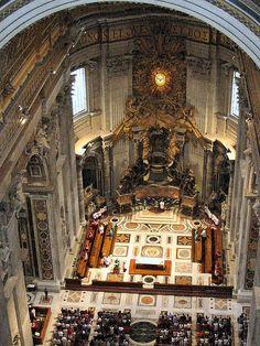 St Peters Basilica, Vatican City, Italy