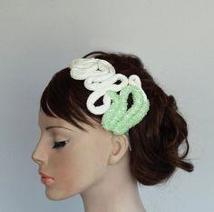 Unusual Bridal Headband Hair Fascinator by MammaMiaBridal on Etsy