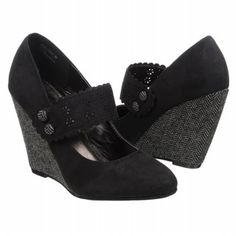 XOXO Nesee Shoes (Black) - Women's Shoes - 7.5 M