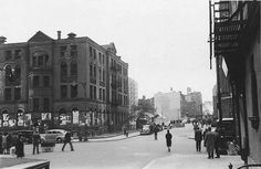 The Upper West Side Amsterdam | 92nd Street and Amsterdam Avenue. | Vintage NYC | Pinterest