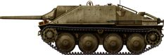 Jagdpanzer-38_Hetzer, first model built with Fgst.nr.321001 radio (command vehicle).