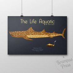 The Life Aquatic with Steve Zissou - Jaguar Shark Movie Poster