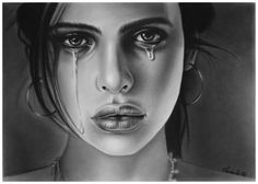 WOMEN CRY DRAWING