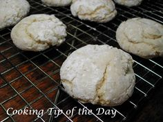 Cooking Tip of the Day: Recipe: French Vanilla Cool Whip Cookies