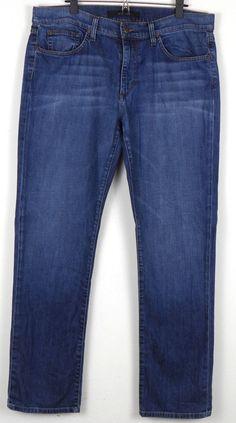 Joe's The Classic Straight Leg Chester Jeans W36 Measures 38 x 33 Distressed #JoesJeans #ClassicStraightLeg