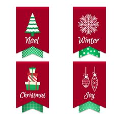 Illustration about Holiday flags, elements with the inscription and pictures. Illustration of picture, vector, christmas - 161075681 Winter Collection, Flag, Holiday Decor, Illustration, Christmas, Pictures, Noel, Xmas, Photos