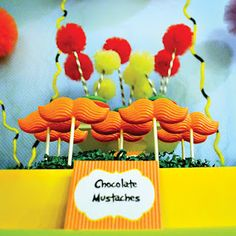 Lorax Party inspiration on www.partyfrosting.com