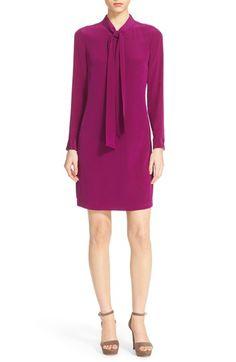 Ted Baker London 'Yanka' Bow Silk Tunic Dress available at #Nordstrom