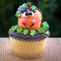 candy pumpkin cupcakes - Google Search