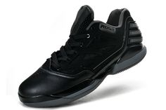 Adidas basketball shoes 2012 Adizero Rose Dominate Low Black Silver G46867