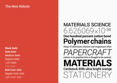 google releases new roboto font family for the future of display visualization - designboom   architecture