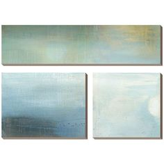 "Heather Ross ""Parceled Reflections"" ($260) ❤ liked on Polyvore featuring home, home decor, wall art, backgrounds, art and handmade home decor"