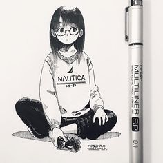 How to Draw A Loch Ness Monster - Drawing On Demand Manga Anime, Anime Art, 3d Drawings, Drawing Sketches, Manga Drawing, Manga Art, Art Minimaliste, Estilo Anime, Pen Art