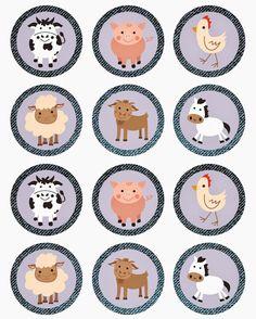 Imprimibles gratis para fiestas infantiles ¡de animales! Divertidos imprimibles gratuitos para fiestas infantiles con temática animales. Animales del bosque, de la jungla, de la granja, todo para fiestas infantiles.