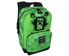 Shop the latest collection of JINX Minecraft Creepy Creeper Kids Backpack (Green, 17 School, Camping, Travel, Outdoors Fun from the most popular stores - all in one place. Similar products are available. Minecraft Lego, Minecraft Backpack, Minecraft School, Mojang Minecraft, Green Backpacks, Boys Backpacks, School Tote, School Bags, Shopping