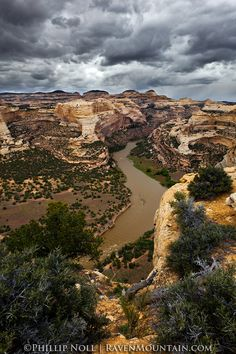 Harding Hole as seen from the Wagon Wheel Point Overlook. Dinosaur National Monument, Colorado; photo by Phillip Noll