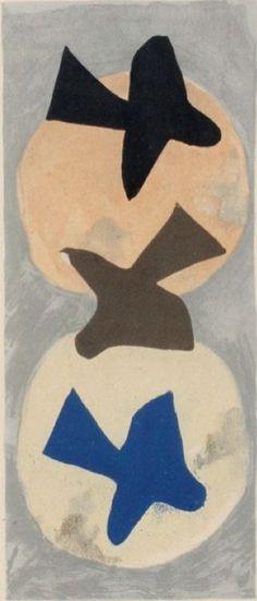 Georges Braque: Soleil et lune I, 1953