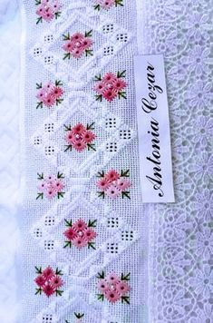Floral Embroidery Patterns, Hand Embroidery Art, Hardanger Embroidery, Crochet Doily Patterns, Cross Stitch Patterns, Quilt Patterns, Crochet Doilies, Brazilian Embroidery Stitches, Xmas Cross Stitch