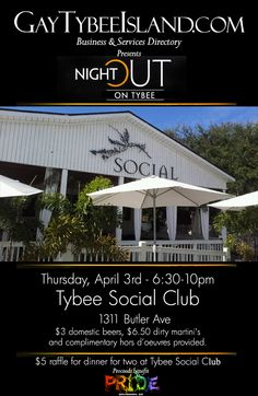 Join us tonight at Tybee Social Club!