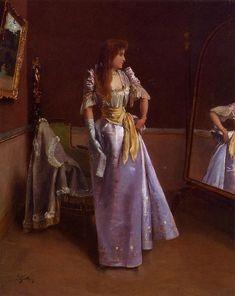 Alfred Stevens       Belgian      1823 - 1906      Ready for the Ball