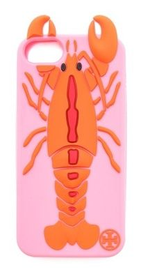 tory burch lobster phone case