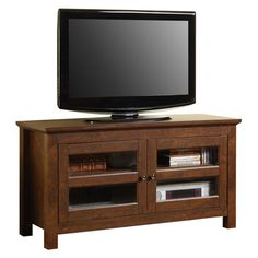 "Found it at Wayfair - Reynolds 44"" TV Stand in Traditional Brownhttp://www.wayfair.com/daily-sales/p/Best-Sellers%3A-TV-Stands-Reynolds-44%22-TV-Stand-in-Traditional-Brown~WLK1394~E12997.html?refid=SBP.rBAZEVQEreFM8h0ywe0cAkIT-6CyLkN3h4-cBwUDUbc"