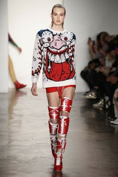 Jeremy Scott RTW Fall 2014 - Slideshow - Runway, Fashion Week, Fashion Shows, Reviews and Fashion Images - WWD.com