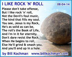 I Like Rock 'n' Roll -- a poem by Bill Kochman - http://www.billkochman.com/Blog/2016/11/01/i-like-rock-n-roll-a-poem-by-bill-kochman/
