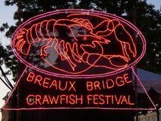 Crawfish Festival in Breaux Bridge, LA  http://www.vacationrentalpeople.com/vacation-rentals.aspx/World/USA/Louisiana
