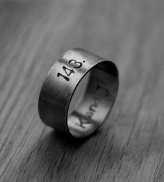 Custom I Love You Secret Message Ring by Ada Rosman on Scoutmob