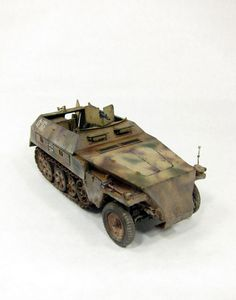 Sd.Kfz. 250 1/35 Scale Model