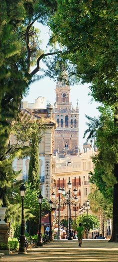 Jardines de Cristina, Sevilla, Spain.