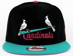 New Era MLB St. Louis Cardinals Snapback Hats Caps Black 4010|only US$8.90
