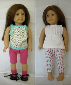 Doll clothes from underwear  --  http://olddaysoldways.blogspot.com/2009/10/dollar-doll-clothes-from-underwear.html