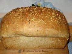La cuisine en fête de Sakya: Pain Santé aux graines de Tournesol et de Millet Bread Recipes, Cooking Recipes, Healthy Recipes, Healthy Food, Sin Gluten, Biscotti, Muffins, Pizza, Pains