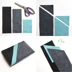 Poppytalk - The beautiful, the decayed and the handmade: DIY Wool Felt iPhone Sleeves