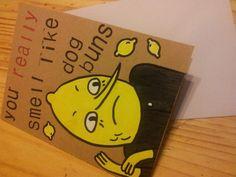 Earl of Lemongrab Greeting Card. £2.50, via Etsy.