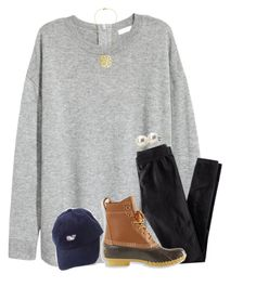 """{exact ootd}"" by southerngirl03 ❤ liked on Polyvore featuring H&M, L.L.Bean and Bounkit"