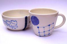 Hand thrown ceramics