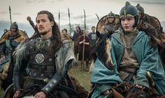 Alexander Dreymon as Uhtred and Harry McEntire as Aethelwold in The Last Kingdom Season 1 Lagertha, The Last Kingdom Series, Vikings, Uhtred Of Bebbanburg, Bbc Drama, Goblin King, Star Wars, Bbc America, Anglo Saxon
