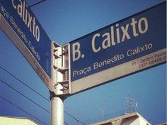 Praça Benedito Calixto - Feira de Artesanato