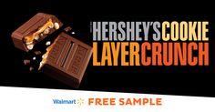 Sample Hershey's Cookie Layer Crunch Caramel at Walmart | Freeosk, Inc.