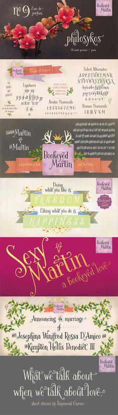 Bookeyed Martin Font Family