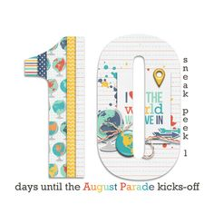10 days until the August 2015 Parade kicks-off... SNEAK PEEK #1