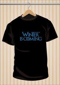#WinterIsComing #JuegoDeTronos #GameOfThrones #TShirt #Camiseta #Tee #Art #Design 17,99€ y envío #gratis.  Sólo en www.UppStudio.com