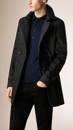Double-breasted Cotton Trench Coat | Burberry