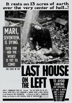 The Last House on the Left (1972) Two teenage girls heading to a rock concert for one's birthday try to score marijuana in the city, where they are kidnapped and brutalized by a gang of psychotic convicts. Movie Gifs, Film Movie, Film Quiz, Diesel Watches For Men, Wes Craven, Father Time, Anamorphic, Classic Horror Movies, Internet Movies