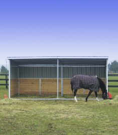 Run-In Shed Frame | Portable Horse Stalls | Ramm Fence