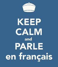 """oui, oui !!! mais... """" parle français"""" is much more """" français"""" ( parler français, le dire en français)"""